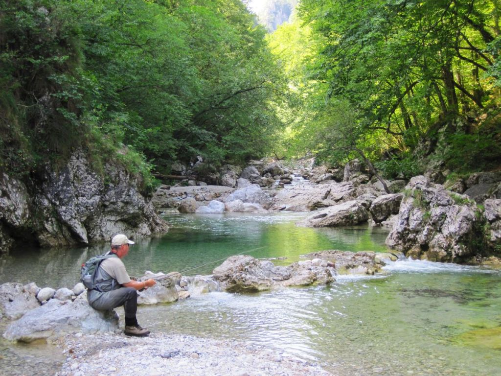 iski vintgar flyfishing slovenia ljubljana